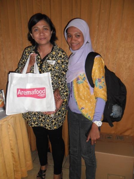 With Mbak Dyah Purana